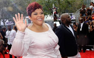 David and Tamela Mann red carpet BET Awards