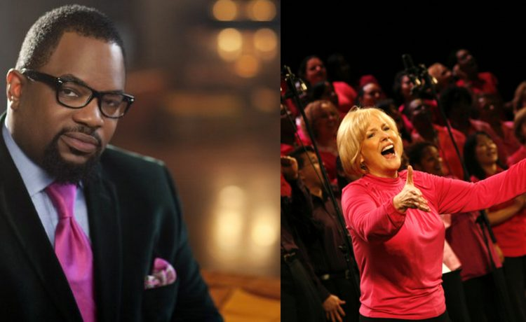 Hezekiah Walker and Carol Cymbala are joining,Love Fellowship Choir and Brooklyn Tabernacle Choir