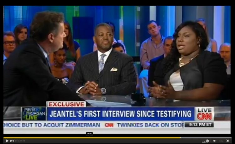 Rachel Jeantel interview on CNN