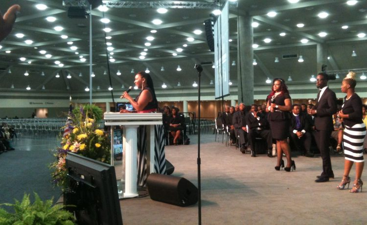 YAnna Crawley at AIM Convention