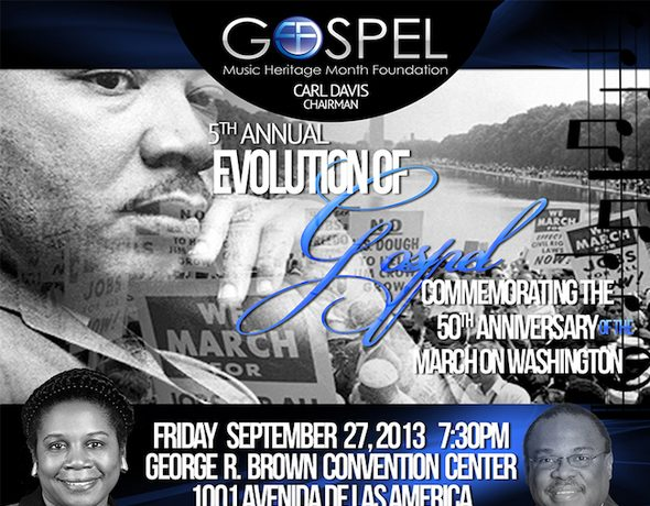 Evolution of Gospel make sfinal stop inTexas