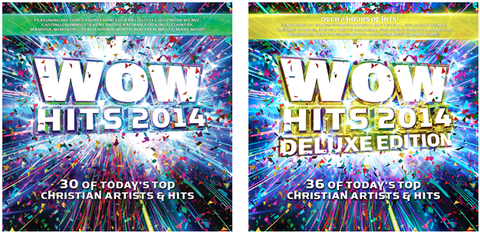 WOW Hits 2014: New CD Releases This Month With 30 Christian Hits