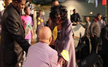 Bishop Larry Trotter proposes and sets wedding date.