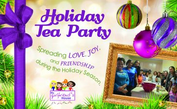 Holiday Tea Party planned for homeless shelter.
