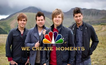 The Afters will have their song appear on NBC