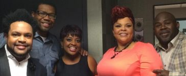 Tamela Mann celebrated Sherri Shepherd's birthday on The View with her big hit