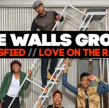 "The-Walls Group ""Satsified"" ""Love On The Radio' are 2 new singles from the young group"