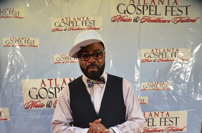 J Moss at Gospel Fest press conference