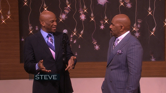 Donnie McClurkin on Steve Harvey Show