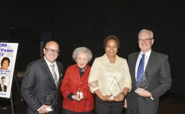 Jacquie Gales Webb is honored