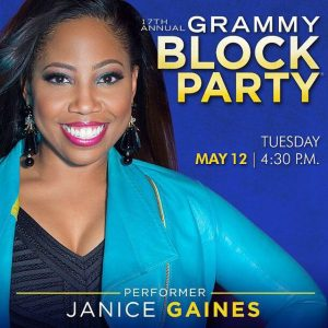 Janice Gaines will be at block party in Nashville