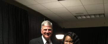 Tasha Cobbs and Franklin Graham