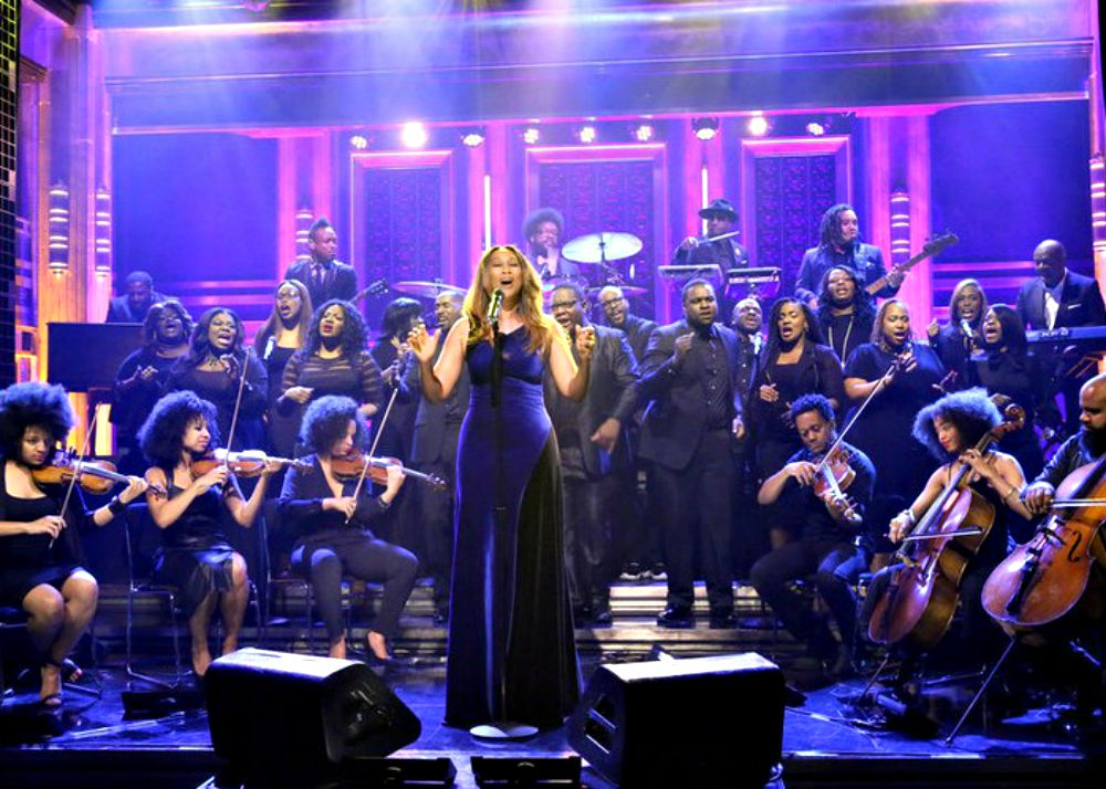 Yolanda Adams performs 'Victory' on  'The Tonight Show Starring Jimmy Fallon'