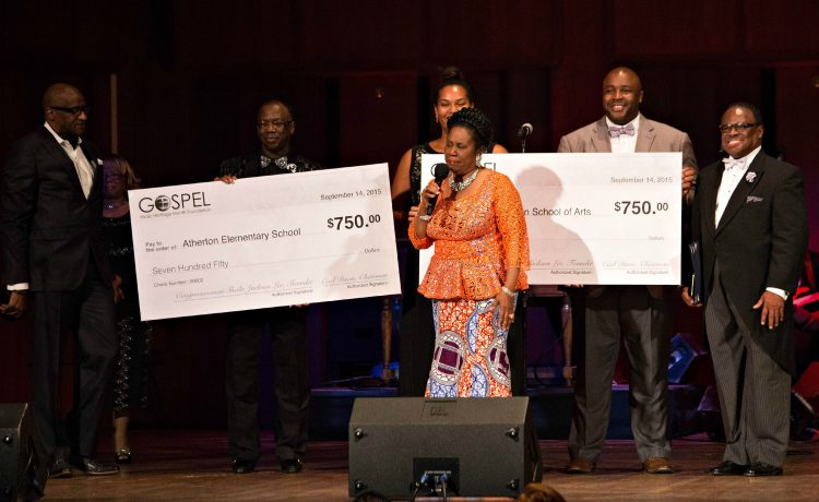 Evolution of Gospel 2015 gives out scholarships