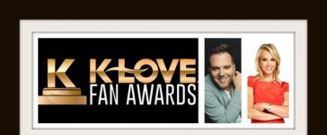 KLOVE Fan Awards hosts Matthew West and Elisabeth Hasselbeck