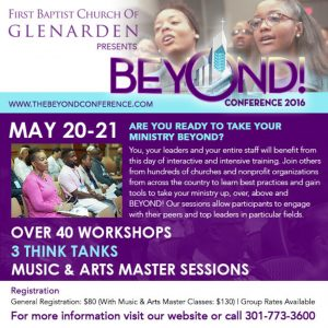 Beyond Conference at First Baptist Church of Glenarden