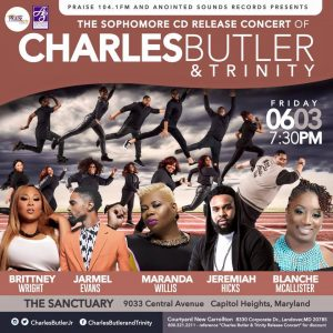 Charles Butler & Trinity release concert
