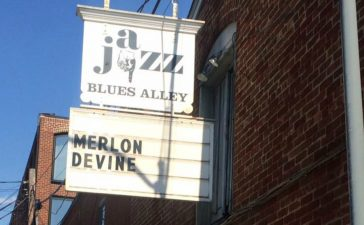 Merlon Devine at Blues Alley