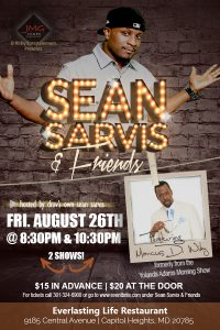 Sean Sarvis & friends show