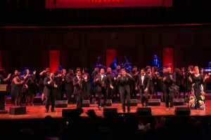 McDonald's ICGT artists opened the show during the Evolution of Gospel Concert at the Kennedy Center. (Photo credit: Milton Miller)