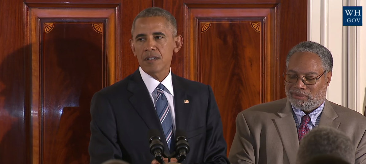 Watch: President Obama speaks at Museum of African American History Reception