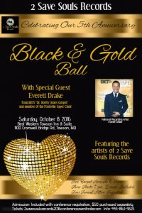 Black and Gold Ball 2 Saved Souls