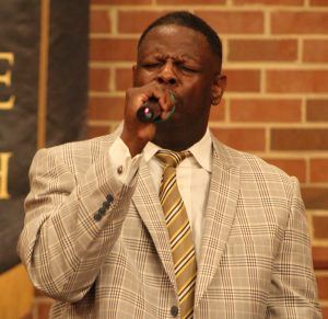 Reggie Hardy CD release at First Rock Baptist
