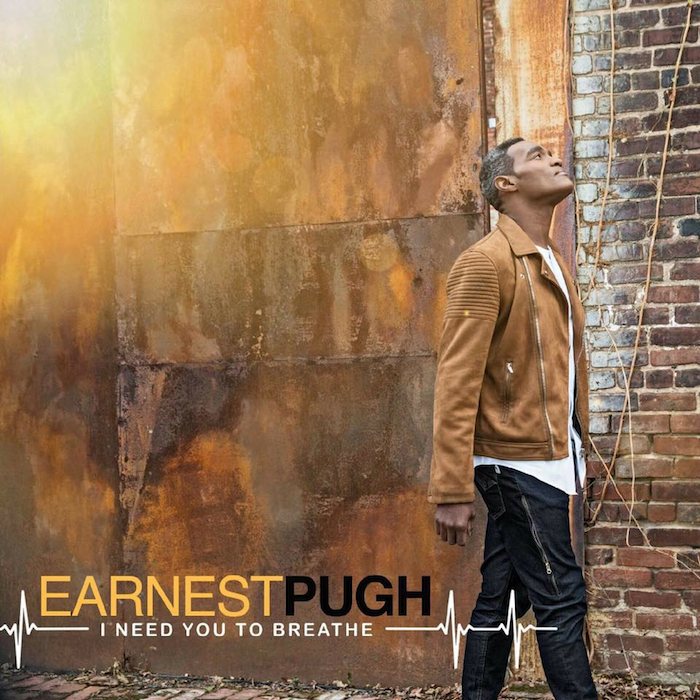 Earnest Pugh reveals album track listing, releases lyric video for 'I Need You To Breathe'