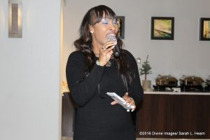 Tanya Dallas-Lewis  at  networking even