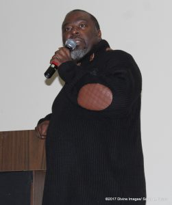 P.J. Morgan speaks at DMV Musician and Singers Fellowship