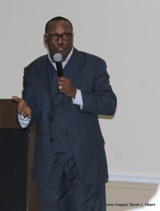 Pastor Marvin MCoy at Church Musician and Singers Fellowship