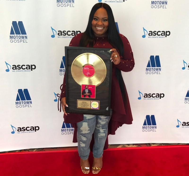 Tasha Cobbs celebrates gold certification of 'Break Every Chain'