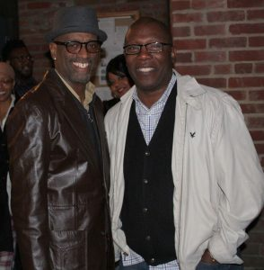 Kenny Taylor and Mike McCoy at Blues Alley