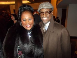 Kenny Taylor and Dottie Peoples pose at Stellar Awards