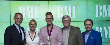 Bernie Herms earns BMI award