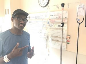 Earnest Pugh health update announcement