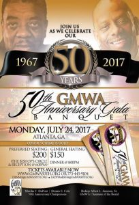 GMWA Gala will take place during celebration