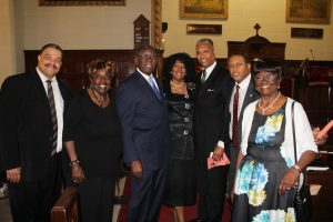 Dr. Ridley and the Taylors at Kenny Taylor tribute