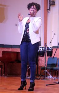 Summer Pearson performs at IGAA