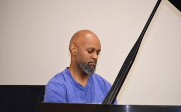 Howard Watson plays at DMV Fellowship on Monday, July 3, 2017