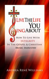 Debut book, Live The Life You Sing About