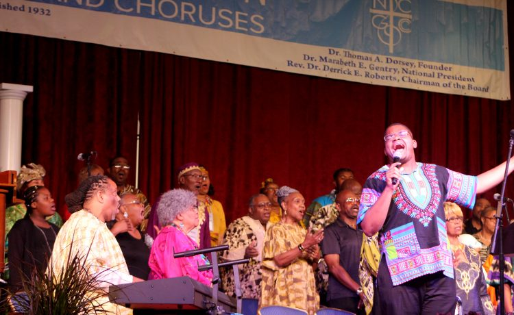 National Convention of Gospel Choirs and Choruses (NCGCC) performances