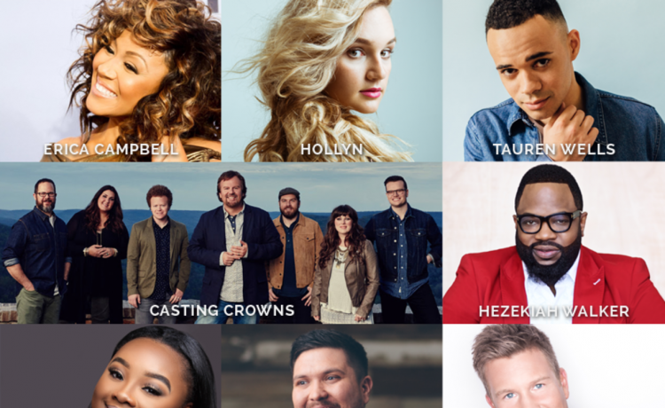 Dove Awards performers