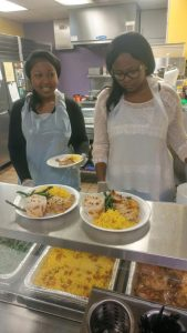 Signature serves meals to homeless