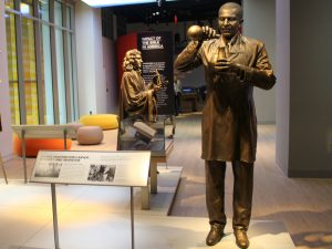 George Washington Carver statue in Museum of the Bible