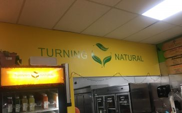 Turning Natural vegan restaurant