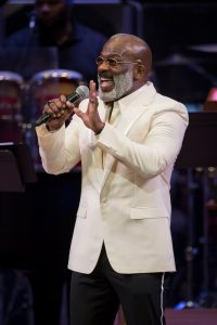 BeBe Winans performs during Handels' Messiah