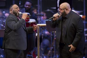 Bishop Marvin Sapp and Fred Hammond at The Kennedy Center, Handel's Messiah