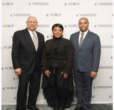 Colin Powell honored at AVOICE