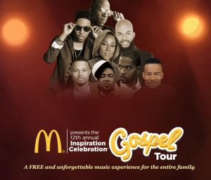 McDonalds Gospel Tour 2018 kicks off